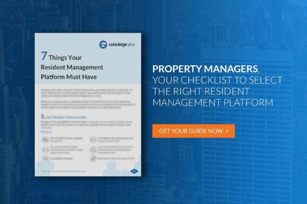 Resident Management Guide Banner