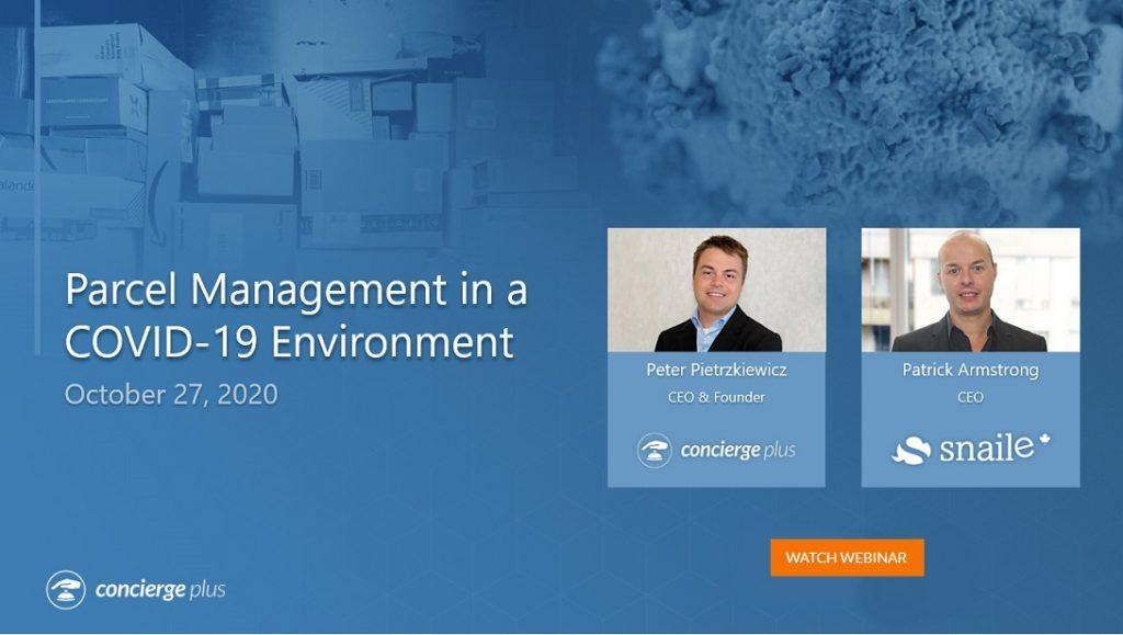 Parcel Management Webinar